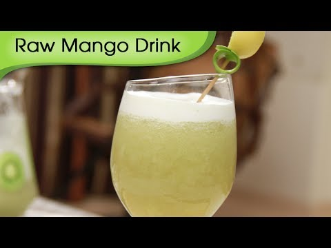 Raw Mango Drink - Aam Panna - Easy To Make Homemade Quick Summer Drink Recipe by Ruchi Bharani
