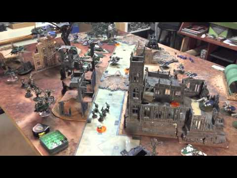 APOCALYPSE - Necron Decurion vs Dark Eldar *Revenant Titan!* - 3000pts / Side