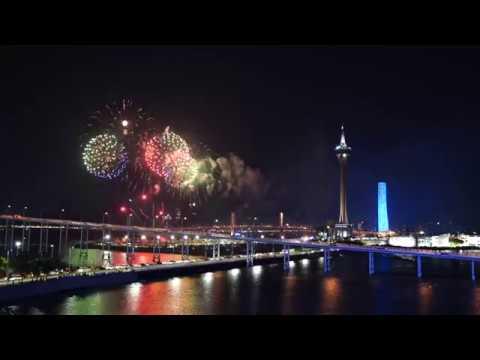 [4K] 2018.10.01 Macao International Fireworks Display Contest