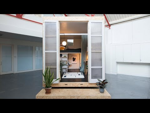 The SHED Project produces micro-homes inside vacant properties