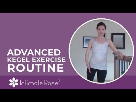 Advanced Kegel Exercise Routine with Intimate Rose Pelvic Floor Weights