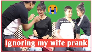 IGNORING MY WIFE FOR 24 HOURS। PRANK ON WIFE। HUSBAND WIFE PRANK FIGHT। PRANK ON WIFE GONE WRONG