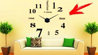 видео купить большие настенные часы