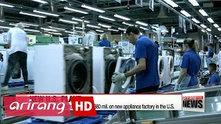 Samsung Electronics to build $380 million home appliance plant in the U.S.