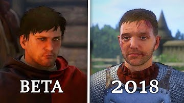 Kingdom Come: Deliverance - Beta vs 2018 Release Comparison