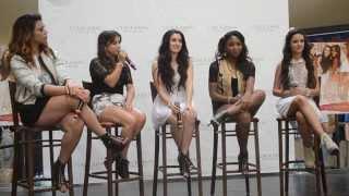 Fifth Harmony Q&A - Portland Oregon 08/14/13