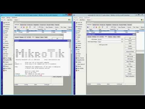 Step by step Mikrotik WDS - YouTube