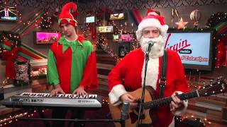 "Key Of Awesome Perform ""Santa and I Know It"" on #Tubeathon"