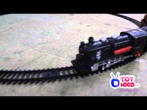 WWW.TOYLOCO.CO.UK Rail King Intelligent Classical Train Set Track With Sound Lights...