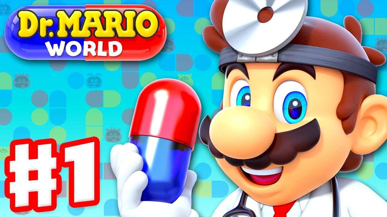 Dr Mario World - Gameplay Walkthrough Part 1 - Intro and Levels 1-20 3-Star! (iOS)