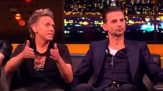 Depeche Mode - TV Interview - Jonathan Ross Show - Sat 30.03.13 (russian subtitles/русские субтитры)