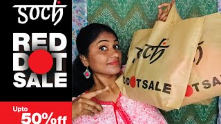 Soch Shopping Haul // Red Dot Sale 2018 // Kurtis & Sarees // IN TAMIL