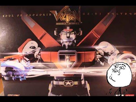 Μία Ματιά στο Soul of Chogokin GX 71 Voltron   Greek Review