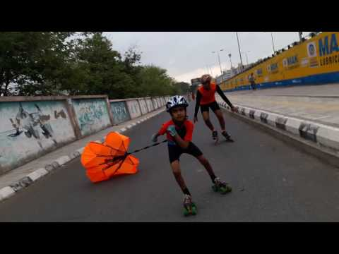 Amay speed skating club Indore