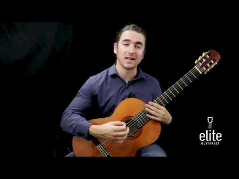 Learn To Play Julia Florida by Barrios - EliteGuitarist.com Classical Guitar Tutorial Part 1/4
