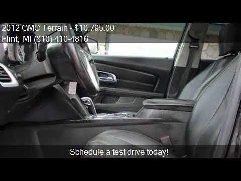 2012 GMC Terrain SLT 2 4dr SUV for sale in Flint, MI 48506 a