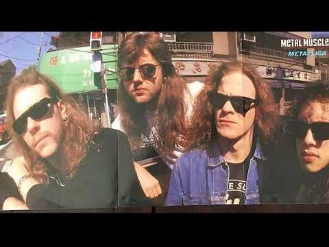 Damaged Justice Tour -Japan - Metallica Poster 1989