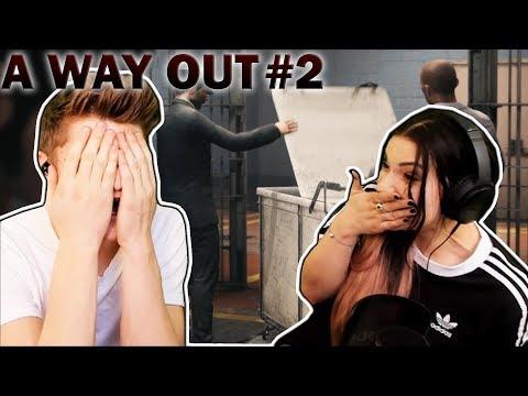 Der Ausbruch beginnt! | A Way Out #2 | Kati & Dner