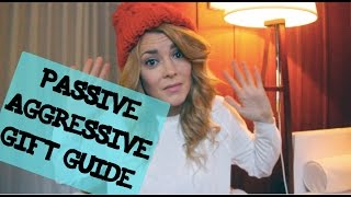 PASSIVE AGGRESSIVE GIFT GUIDE // Grace Helbig Thumbnail