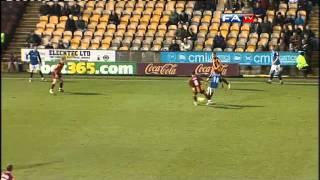 Bradford 1-0 Rochdale  | The FA Cup 1st Round 12/11/11