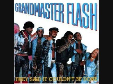 Grandmaster Flash - Girls Love The Way He Spins