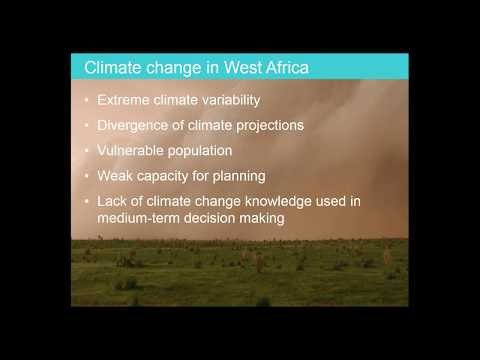 Webinar- Linking global warming with recent trends in intense storms in West Africa