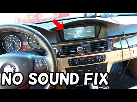 Bmw E90 No Sound Idrive Not Working Sos Light Youtube