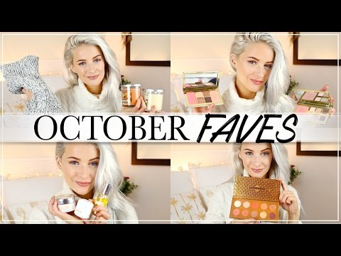 OCTOBER FAVOURITES AND NEW IN PRODUCTS I LOVE