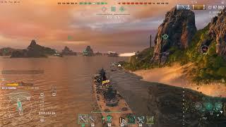 WorldOfWarships, Yoshino 247k damag