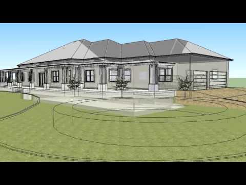 New home design in 3d for acreage properties youtube for House designs for acreage