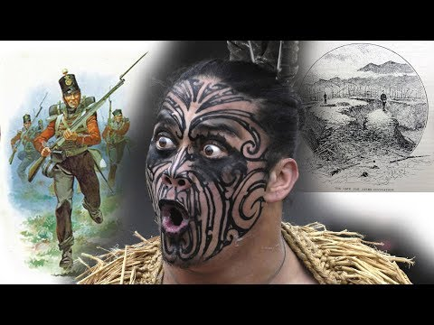 The Storming of Gate Pah - the defeat of the British by Maori warriors