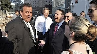Christie With Port Authority Official During Bridge Fiasco