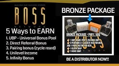 BOSS Network Amazing Presentation