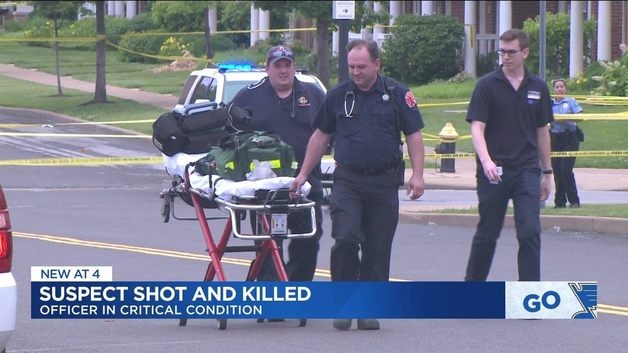 St Louis, Missouri: KKKCop Wounded, Perpetrator Killed