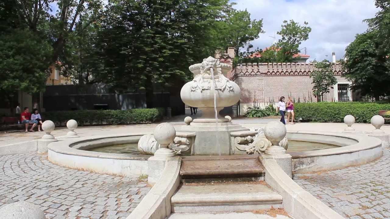 J ruiz en la red fuentes de madrid fuente principal de for Piscina fuente del berro