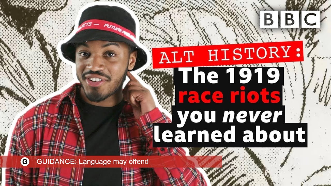 The tragic stories of the 1919 race riots | Alt History - BBC