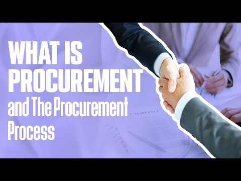 WHAT IS PROCUREMENT and The Procurement Process   Simplicity Consultancy
