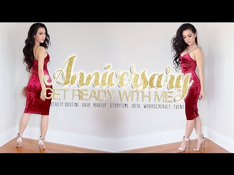 GET READY WITH ME ANNIVERSARY