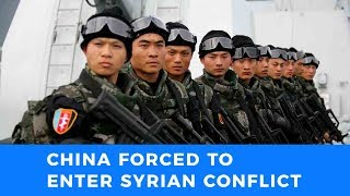 Partitioning of Syria is drawing China into the theater of war