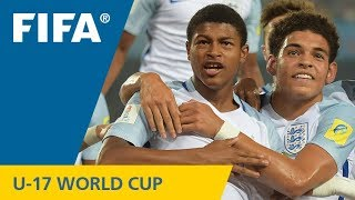 TOP GOALS: Rhian Brewster (ENG) v Mexico - FIFA U-17 World Cup 2017