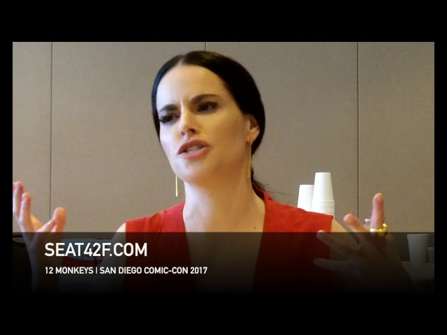 Emily Hampshire 12 MONKEYS Interview Comic Con HD