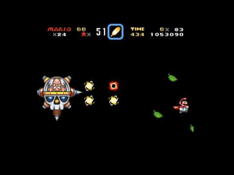 Brutal Mario World: The Future of UFOs - Boss  - Dr Wily