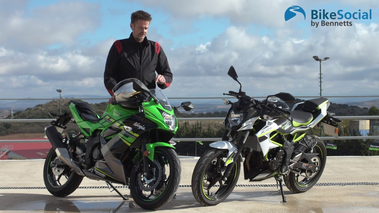 Kawasaki Z125 And Ninja 125 2019 First Impressions Review Youtube