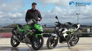 Kawasaki Z125 and Ninja 125 (2019)   First Impressions Review