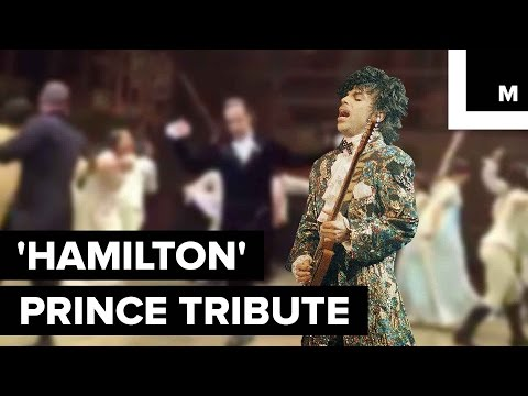 Cast of 'Hamilton' Pays Fitting Tribute to Prince With Dance Party