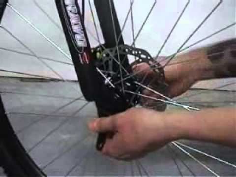 ks cycling fahrradmontage schnellspanner am vorderrad. Black Bedroom Furniture Sets. Home Design Ideas