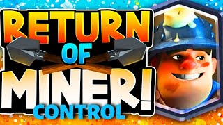 MINER CONTROL POISED TO TAKE OVER THE GAME!