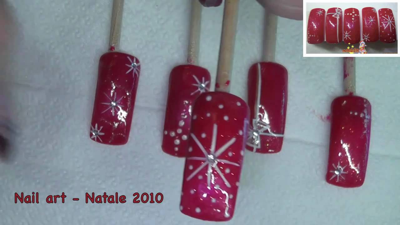 Nail Art Natale Maddafashion Youtube