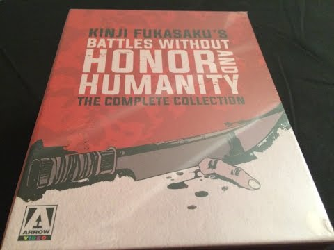 Battles Without Honor And Humanity (The Yakuza Papers) Limited Edition Blu-ray Set Unboxing
