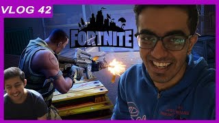 Getting REKT playing Fortnite | Vlog 42